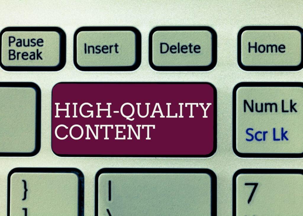 web copy content writing